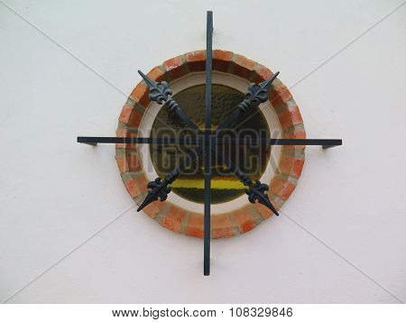 Round Window With Bars