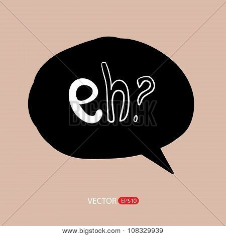 Modern style speech bubbles for labels and stickers