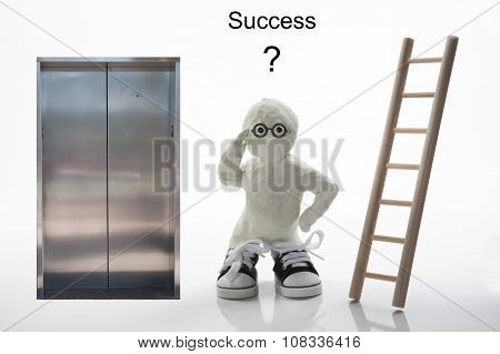 Take The Stairs Or Elevator To Success?
