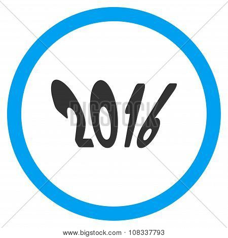 2016 Year Icon