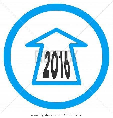 2016 Ahead Arrow Icon