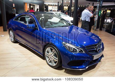 Mercedes E220 D Coupe