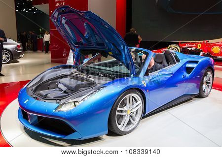 2016 Ferrari 488 Gts Spider
