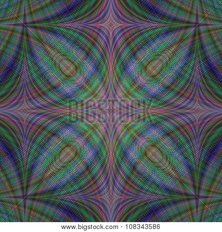 Gloomy abstract fractal background