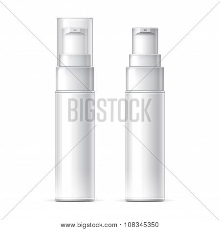 White Plastic Bottle Can Sprayer