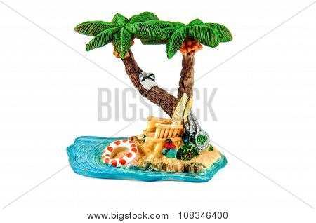 Toy Statuette Palm trees