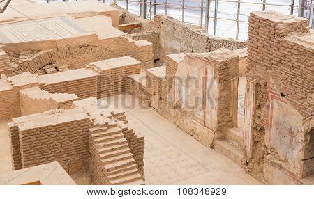 Terrace Houses In Ephesus Ancient City