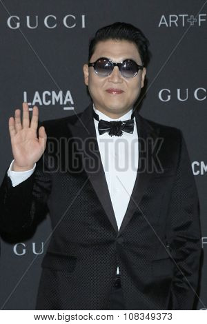 LOS ANGELES - NOV 7:  Psy at the LACMA Art + Film Gala at the  LACMA on November 7, 2015 in Los Angeles, CA