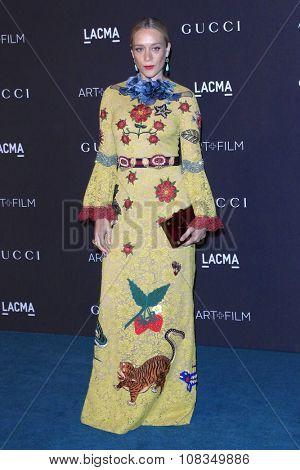 LOS ANGELES - NOV 7:  Chloe Sevigny at the LACMA Art + Film Gala at the  LACMA on November 7, 2015 in Los Angeles, CA