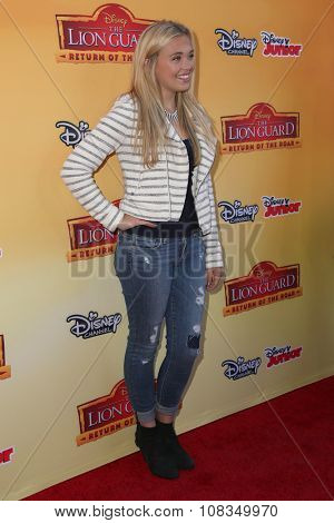 LOS ANGELES - NOV 14:  Lauren Taylor at the