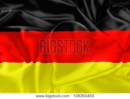 Flag Of Germany, Berlin