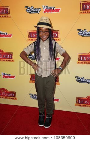 LOS ANGELES - NOV 14:  Marsai Martin at the