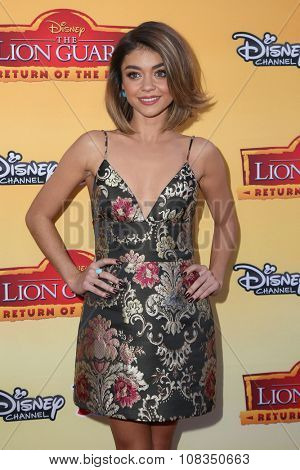 LOS ANGELES - NOV 14:  Sarah Hyland at the