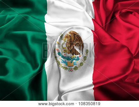 Flag Of Mexico, Mexico City