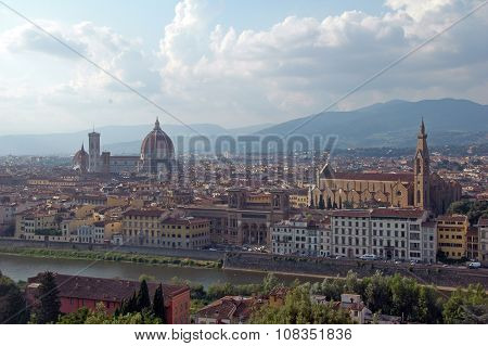 view of Florence,Italy.