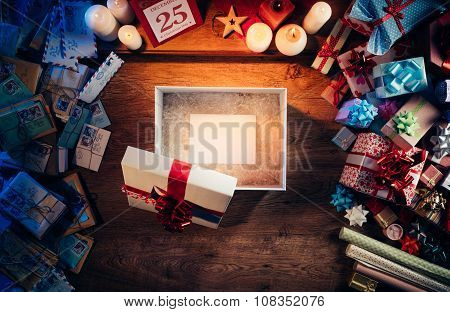 Christmas Gift With Card