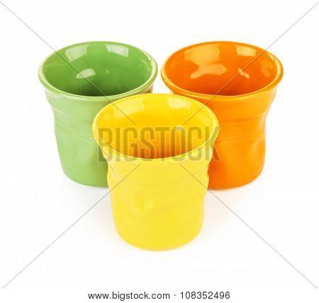 Colorful Espresso Cups