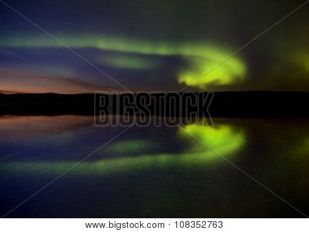 Night Shot Northern Lights