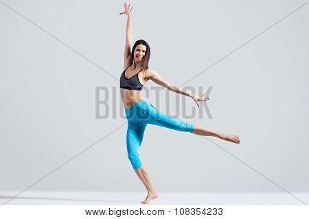 Modern Girl Dancing