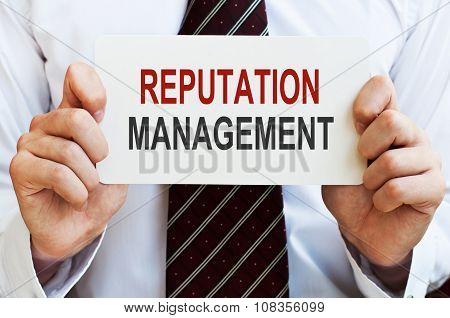Reputation Management Card