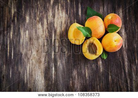 Delicious Ripe Apricots