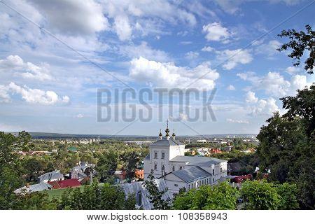 Savior Transfiguration Monastery In Penza