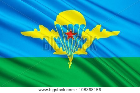 Flag Of Russian Federation Armed Forces - Air Assault Troops
