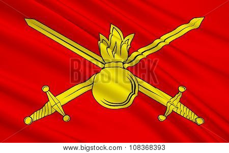 Flag Of Ground Forces Of The Russian Federation