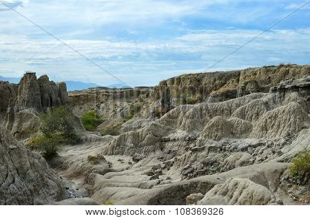 Canyon Of Gray Sandstone - Beauty Of Nature