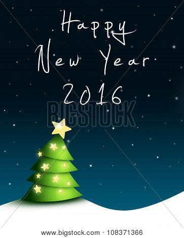 Silvester Greeting Card 2016