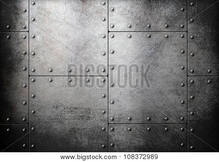 old steel metallic background