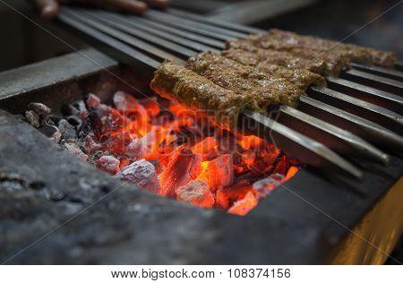 Charcoal Kebab