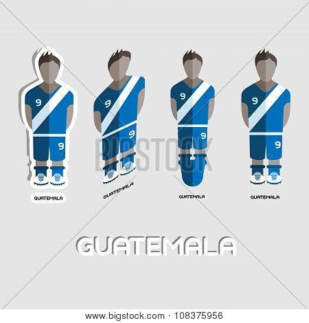 Guatemala Soccer Team Sportswear Template
