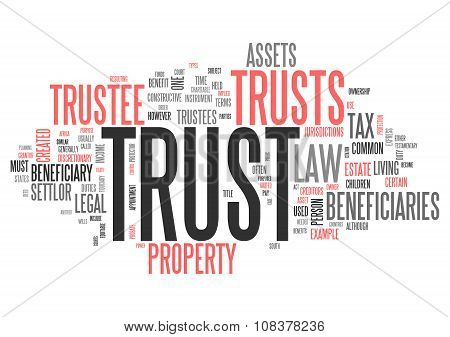 Wordcloud Trust