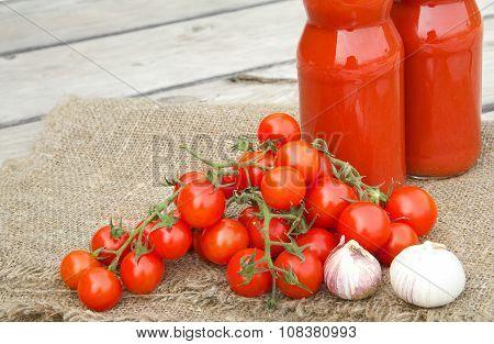 Cherry Tomatoes Twigs