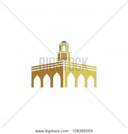 Mosque in the desert