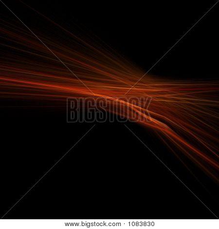 Red, Orange Flare