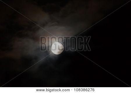 Sky With Full Moon