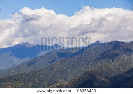 Andes Mountains, Aerial View, South America