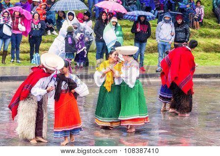 Celebration Of Inti Raymi Festival