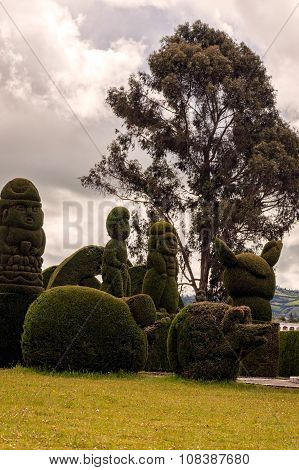 Topiary Garden Cemetery, South America