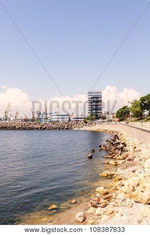 Constanta Harbor, Seaport
