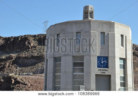 The Intake Towers at Hoover Dam