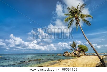 Corner of Phu Quoc island in a sunny day