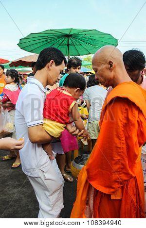 Tak Bat Devo Festivals.