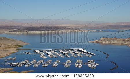 Lake Mead in Nevada