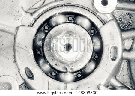 engine driving shaft bearing and gear