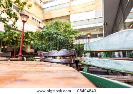Urban Table And Benches