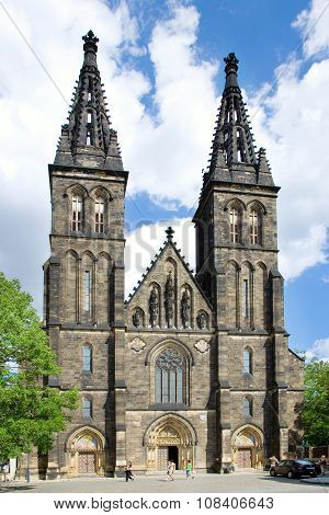 St. Peter And St. Paul Cathedral, Vysehrad (unesco), Prague