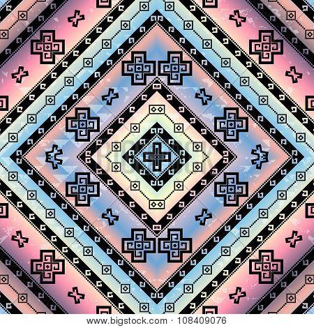 Abstract aztecs background